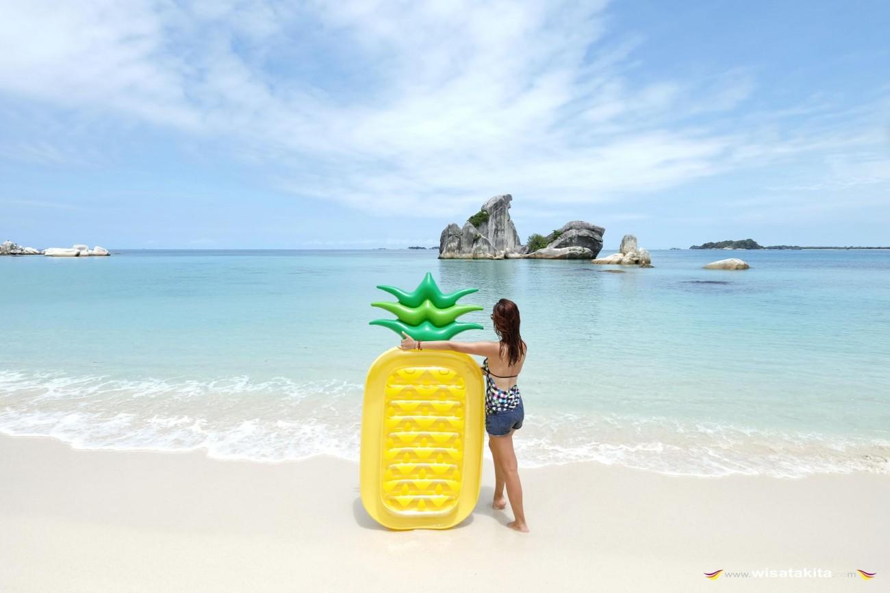 Pulau Burung Mandi Belitung