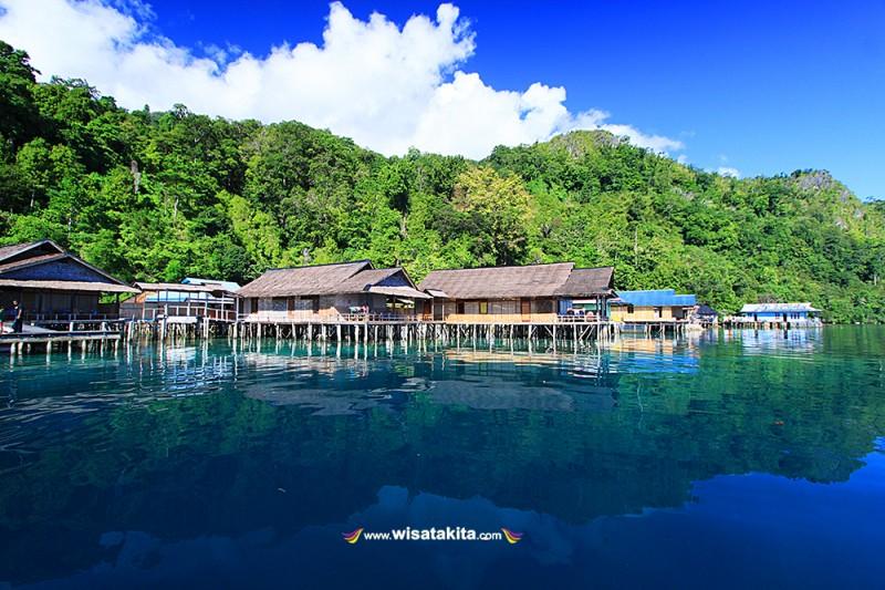 Sawai village Maluku