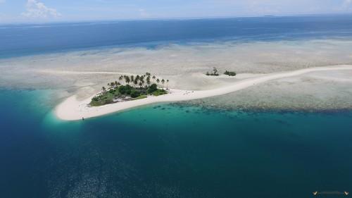 Pulau manimbora Berau Kalimantan Timur