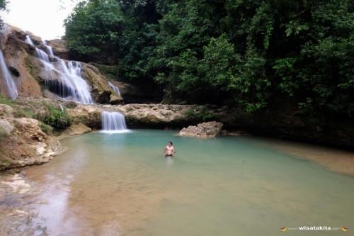 Air Terjun Kedung Jembar, Lokasi : Donomulyo, Malang