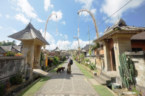 Desa Adat Penglipuran, Desa Paling Bersih di Dunia