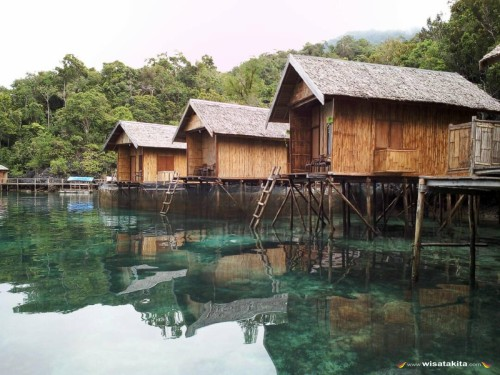 Labengki Nirwana Resort Kamar Cottage Air