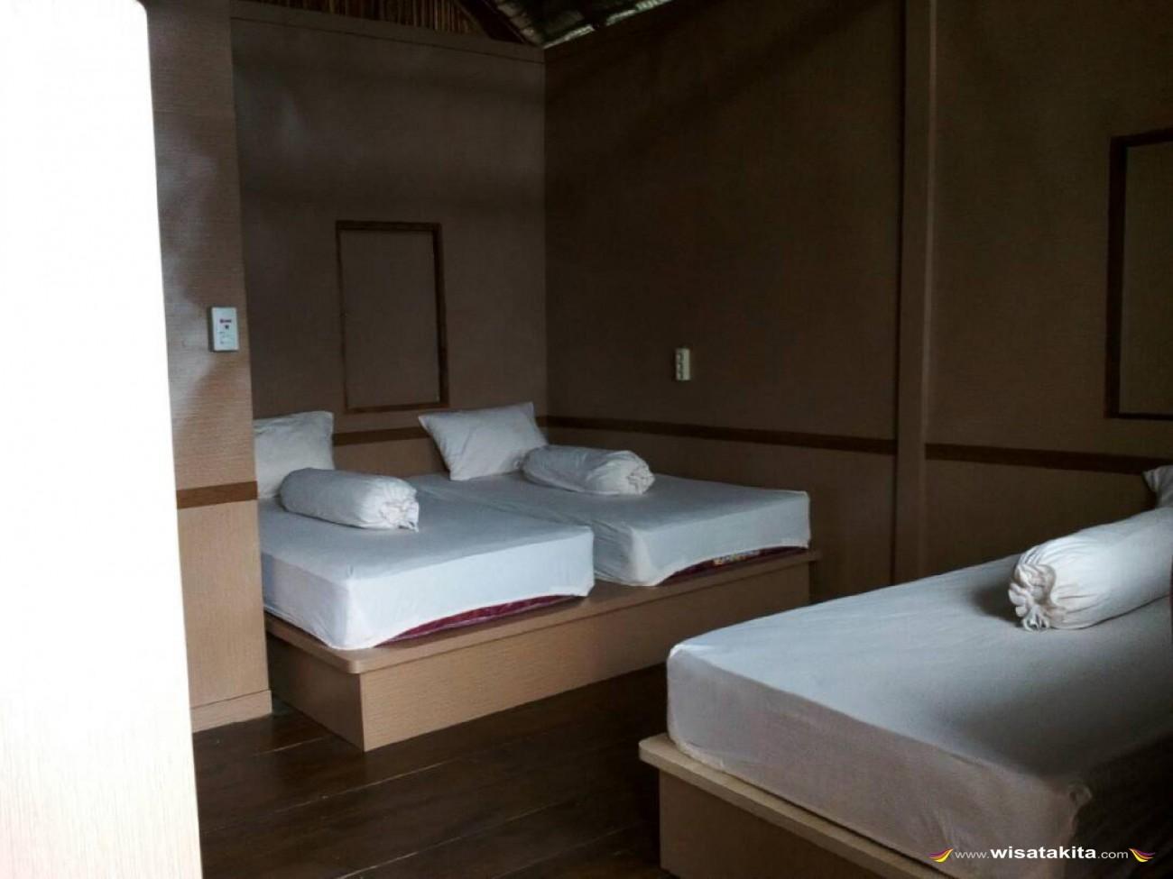 Labengki Nirwana Resort Tempat Tidur Cottage Air