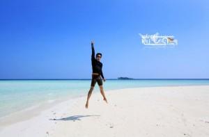Merdeka di pulau Geleang Karimunjawa