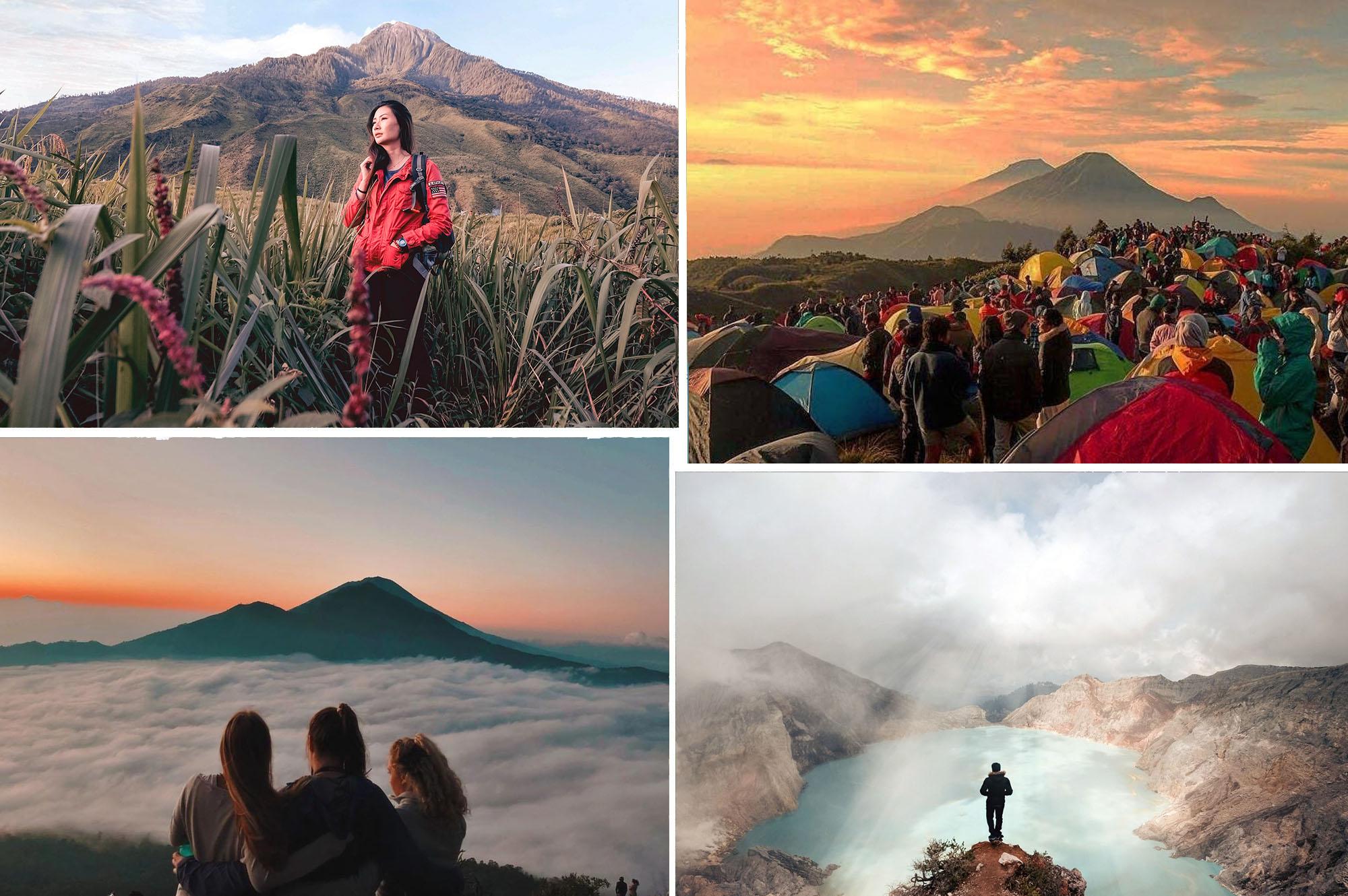 8 tempat cantik untuk pendaki pemula